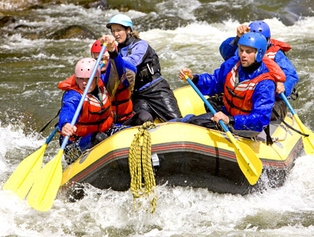 image of White Water Rafting for Two