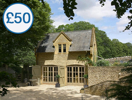 image of £50 Credit Towards 'Cottage Escapes to the Cotswolds'