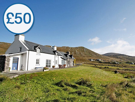 image of £50 Credit Towards 'Cottages in Ireland'