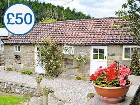 £50 Credit Towards Dog Friendly Cottages