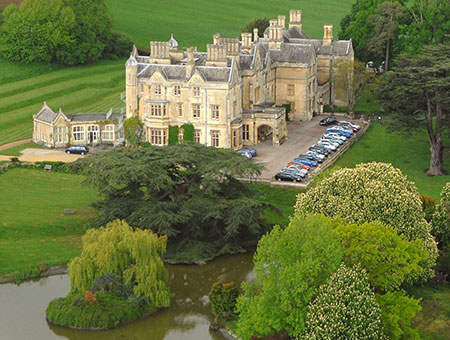 image of Country House Retreat with Afternoon Tea for Two at Dumbleton Hall Hotel