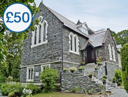 £50 Cottage Escapes to Wales