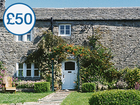 image of £50 Credit Towards 'Cottage Escapes to Yorkshire'