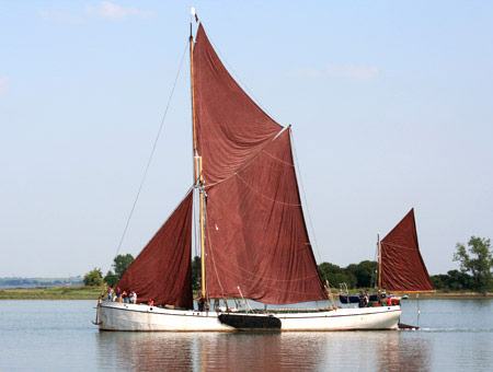 image of Sailing on a Barge for Two
