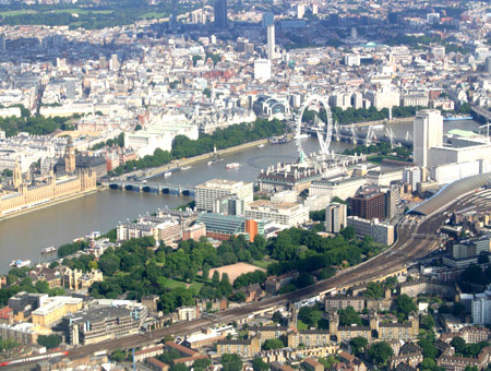image of Helicopter Tour Over London for Two