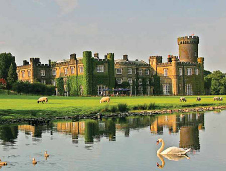 image of Garden Lunch and Tour at Swinton Park for Two