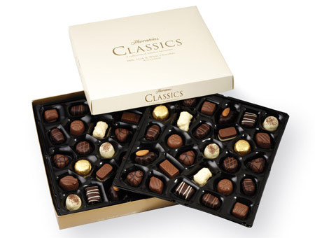 Thorntons Classics Collection 630g