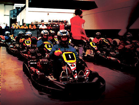 image of Indoor Karting Session for Two