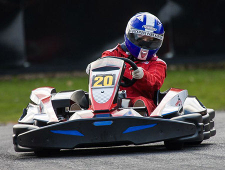 image of Outdoor Karting Session for Two