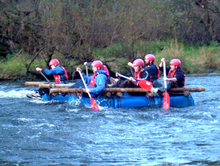 image of Raft Building Experience for Two