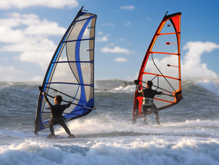 image of Windsurfing Taster for Two