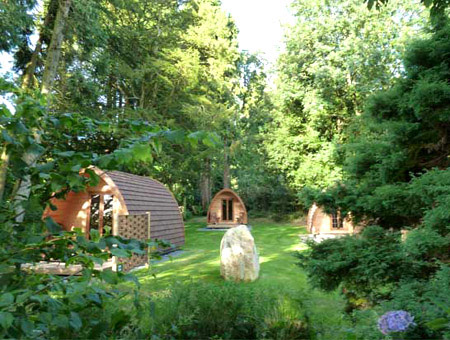 image of Three Night Glamping Pod Break at Langstone Manor - Was £149, Now £99