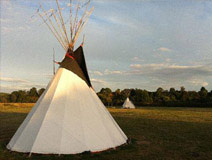 A One Night Tipi Adventure for Two - Was £184, Now £109