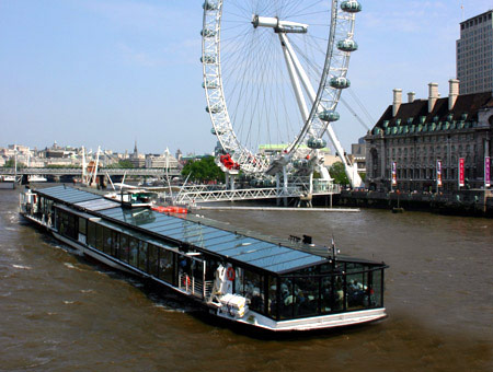 London Eye & Lunch Cruise for Two  Was £109 Now £94