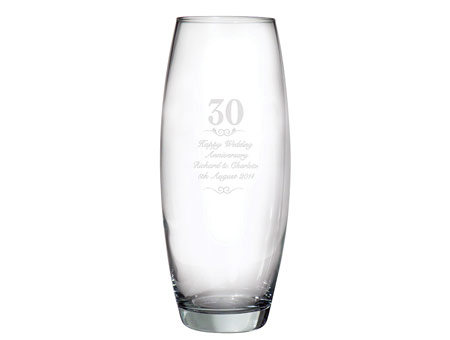 Image of 30 Years Bullet Vase