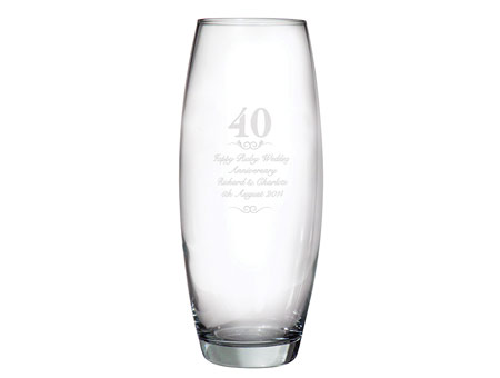Image of 40 Years Bullet Vase