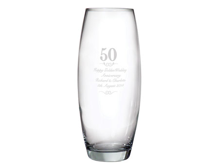 Image of 50 Years Bullet Vase