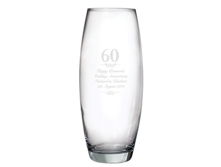 Image of 60 Years Bullet Vase