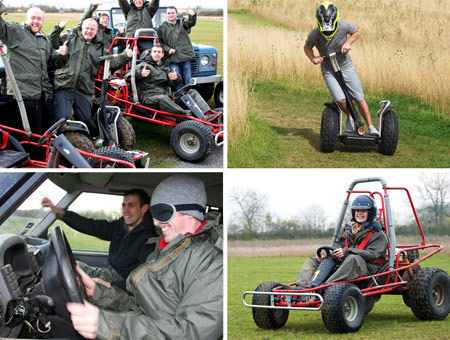 image of Off Road Triple Drive for Two - Was £239, Now £118
