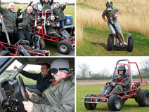 Off Road Triple Drive for Two - Was £239, Now £118