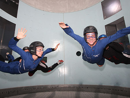 image of Indoor Skydiving for Two, Was £90, Now £49
