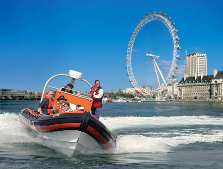 image of RIB Tour of London for Two