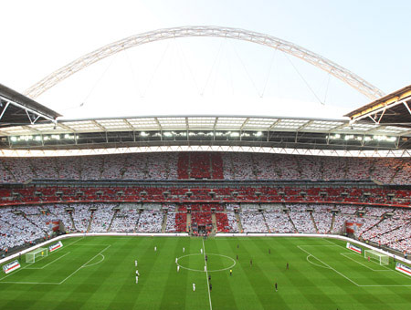 A Tour of Wembley Stadium for One Adult and One Child