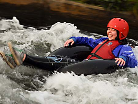 image of White Water Tubing Experience for Two
