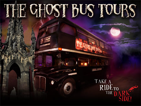 image of Ghost Bus Tour and Guide Book for Two