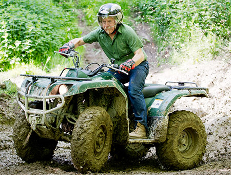 image of Quad Bike Thrill for Two