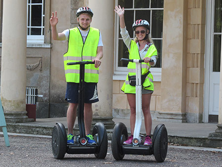 image of Segway Tour of Upton Country Park and Dorset Cream Tea for Two