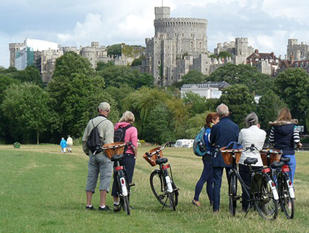 image of Windsor Castle Bike Tour for Two
