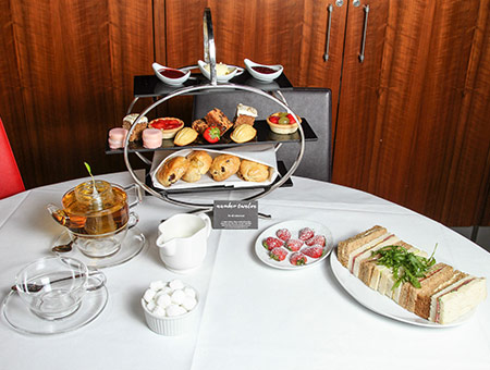image of Afternoon Tea for Two at the Ambassadors Bloomsbury Hotel