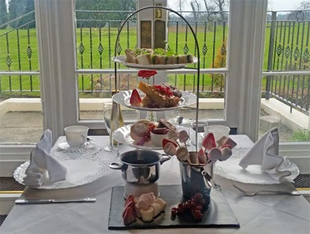 image of Champagne Afternoon Tea for Two at The Haughton Hall Hotel