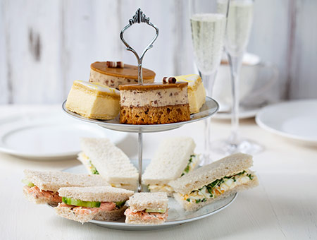 image of Afternoon Tea with Bubbly at Rothay Manor for Two
