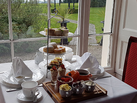 image of Deluxe Afternoon Tea for Two at The Haughton Hall Hotel