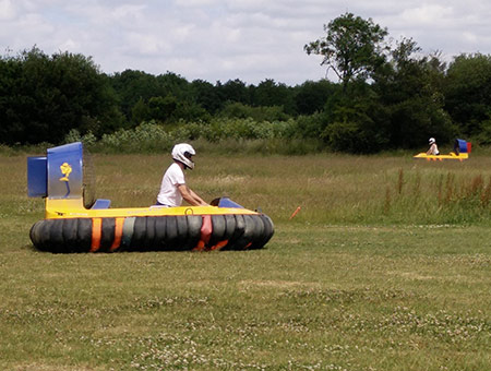 image of Hovercraft Driving Experience for Two