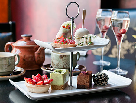 image of Prosecco Afternoon Tea at Buddha-Bar for Two