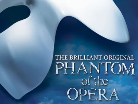 image of Top Price Tickets to Phantom of the Opera and a Meal for Two
