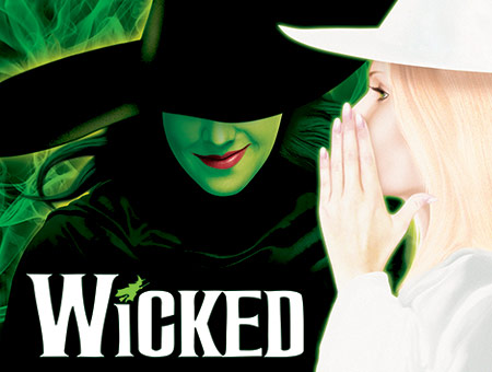 image of Tickets to Wicked and a Meal for Two