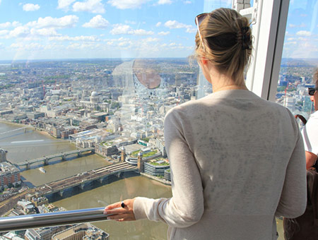 The View of The Shard and Afternoon Tea for Two