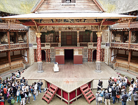 image of Visit to Shakespeare's Globe and a Meal for Two