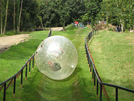 image of Zorbing for Two
